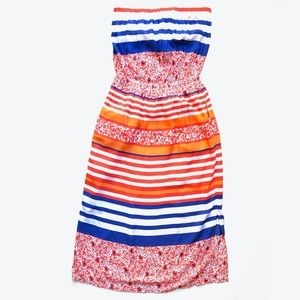 Tommy Bahama Strapless Midi Dress